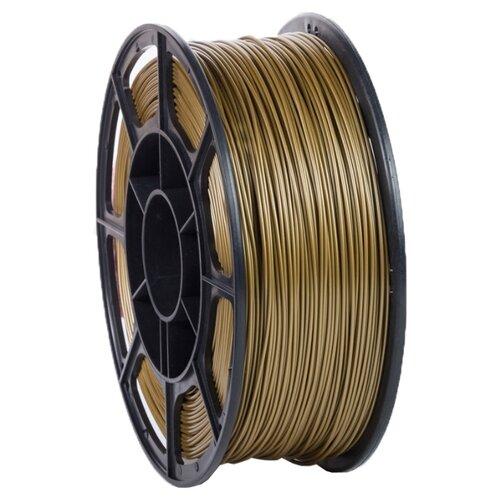 PLA пруток НИТ 1.75 мм золото 1 кг