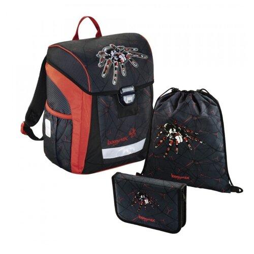 цена на Step By Step Ранец BaggyMax Trikky Dark Spider 3 предмета (1047686), черный