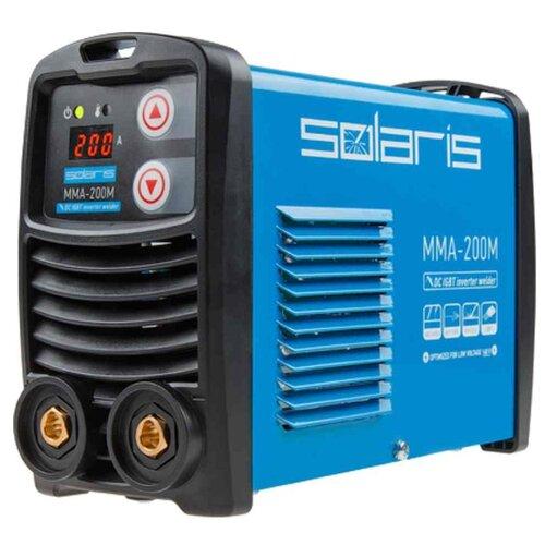 Сварочный аппарат Solaris MMA-200M (MMA) сварочный аппарат булат бса 190ит mma