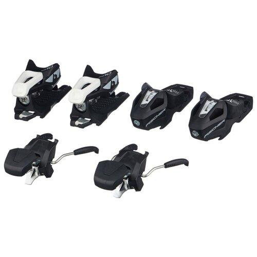 Горнолыжные крепления Fischer RS10 GW Powerrail Solid Black/White скистопы 78