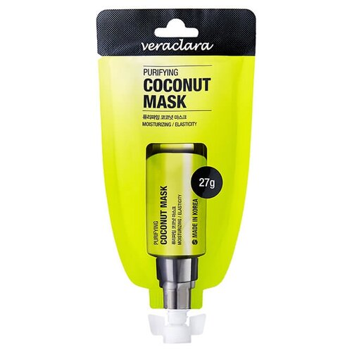 Veraclara маска-пленка Purifying Coconut Mask с экстрактом кокоса, 27 гМаски<br>