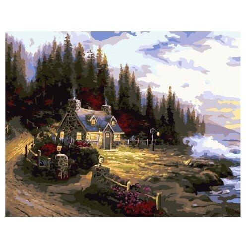 Купить ВанГогВоМне Картина по номерам Море спокойствия , 40х50 см (ZX 21610), Картины по номерам и контурам