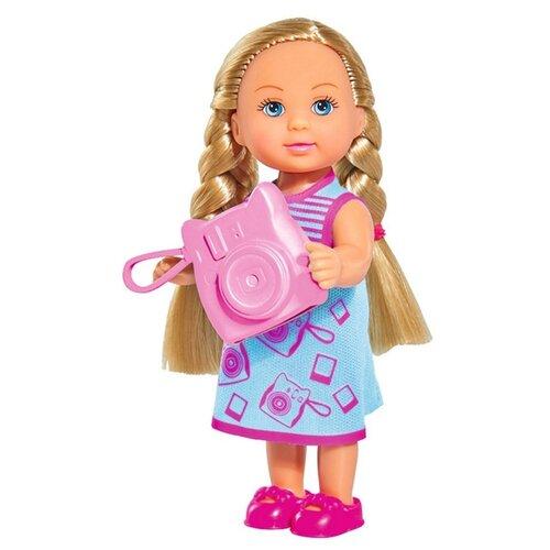 Купить Кукла Simba Еви с фотоаппаратом, 12 см, 5733209-1, Куклы и пупсы