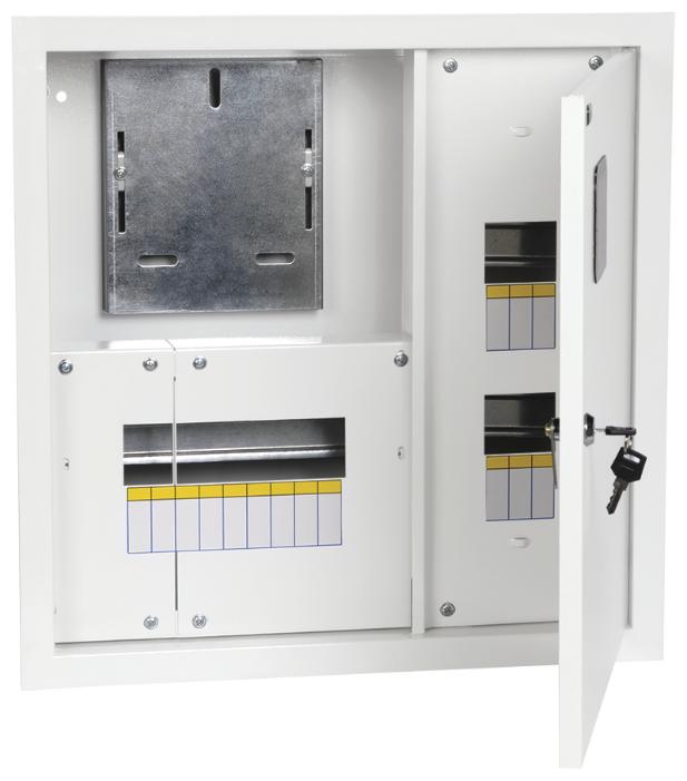 Щит учетно-распределительный IEK встраиваемый, модулей: 15 MKM23-V-15-31-ZO