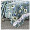 Плед Hongda Textile Цветочная поляна, 180 x 200 см