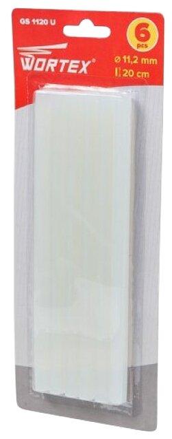 Wortex Клеевые стержни 11.2х200 мм, 6 шт