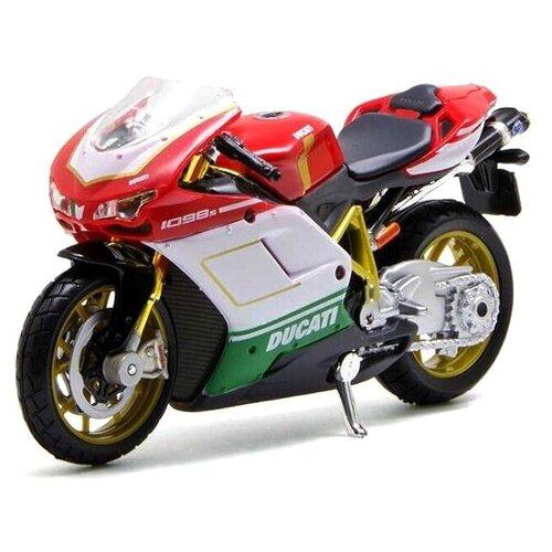 Купить Мотоцикл Maisto Ducati 1098 S4 (39300/15) 1:18 красный, Машинки и техника