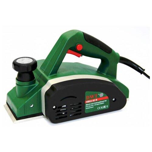 Электрорубанок DWT HB02-82 B зеленый/черный.
