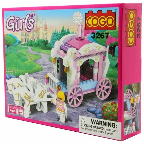 Купить Конструктор COGO Girls 3267, Конструкторы
