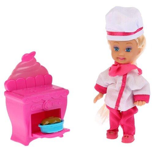 Купить Кукла Карапуз Машенька в костюме повара, 12 см, MARY019X-RU, Куклы и пупсы