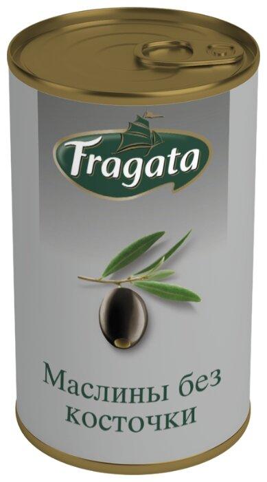 Fragata Маслины без косточки, жестяная банка 350 г