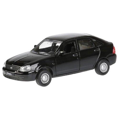 Купить Легковой автомобиль ТЕХНОПАРК Lada Priora хэтчбек (SB-18-22-LP(BL)WB) 1:35 12 см черный, Машинки и техника