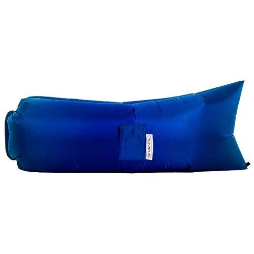 Надувной диван Биван Классический (180х80) синий надувной диван биван классический 180х80 фиолетовый