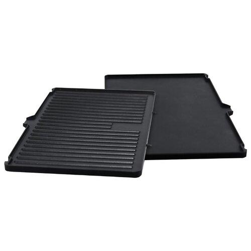 Zigmund & Shtain Съемные панели ZEPG-926 для электрического гриля черный