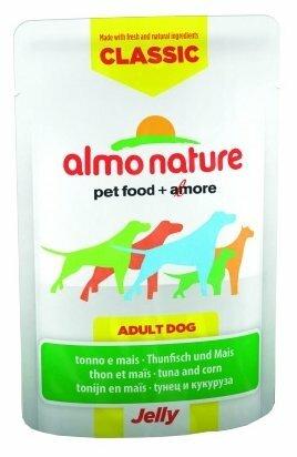 Корм для собак Almo Nature Classic тунец с кукурузой 70г