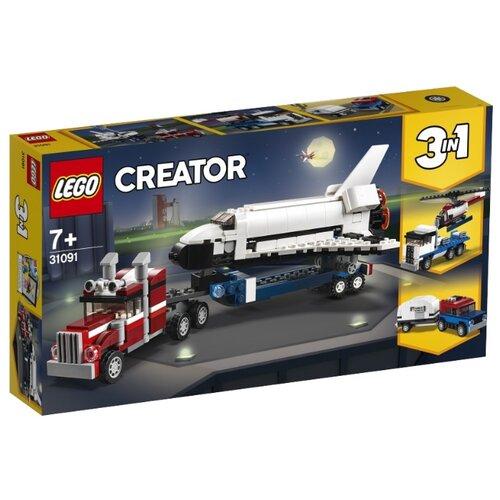 Конструктор LEGO Creator 31091 Транспортировщик шаттлов конструктор creator lego lego mp002xb00c9r