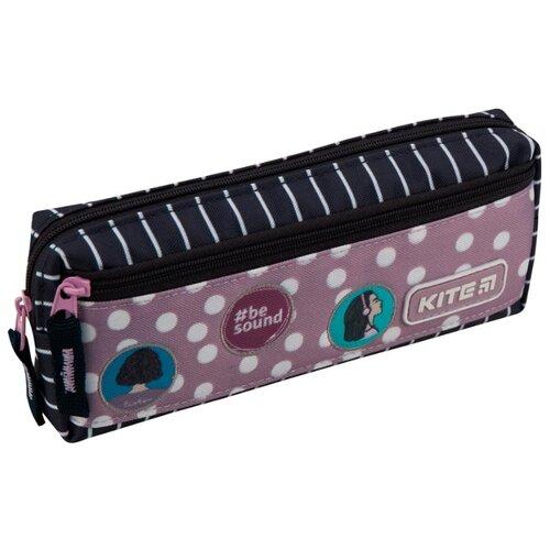 Купить Kite Пенал (K19-647-5) синий/розовый, Пеналы