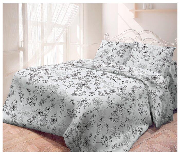 Евро комплект постельного белья Самойловский текстиль Утро с наволочками 70*70 (717718)