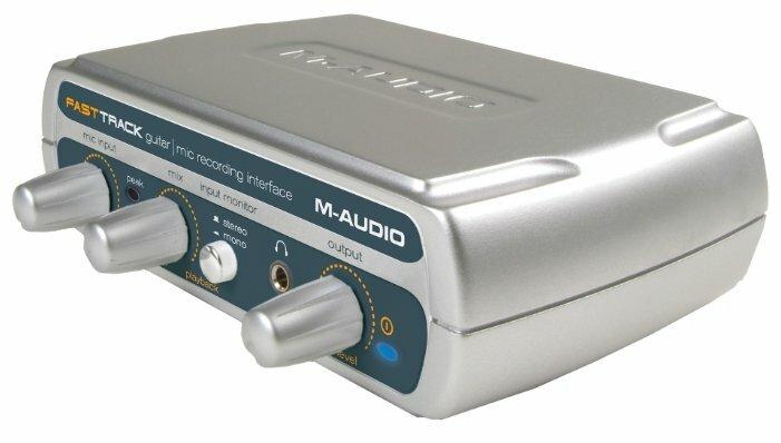 Внешняя звуковая карта M-Audio Fast Track USB