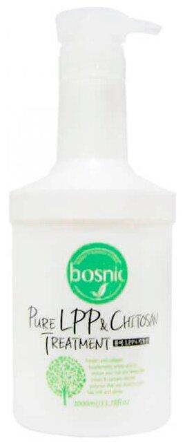 BOSNIC Маска для волос с хитозаном и низко-молекулярными полипептидами Pure LPP & Chitosan Treatment