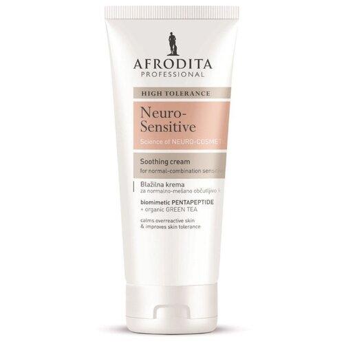 Крем для лица успокаивающий для нормальной и комбинированной очень чувствительной кожи NEURO-SENSITIVE, Afrodita Cosmetics, Словения, 100мл