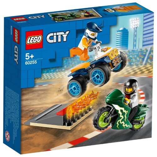 Конструктор LEGO City 60255 Команда каскадёров конструктор city lego lego mp002xb00c9t