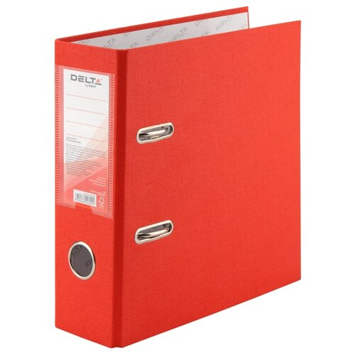 Delta by Axent Папка-регистратор односторонняя, А5, 7.5 см красныйФайлы и папки<br>