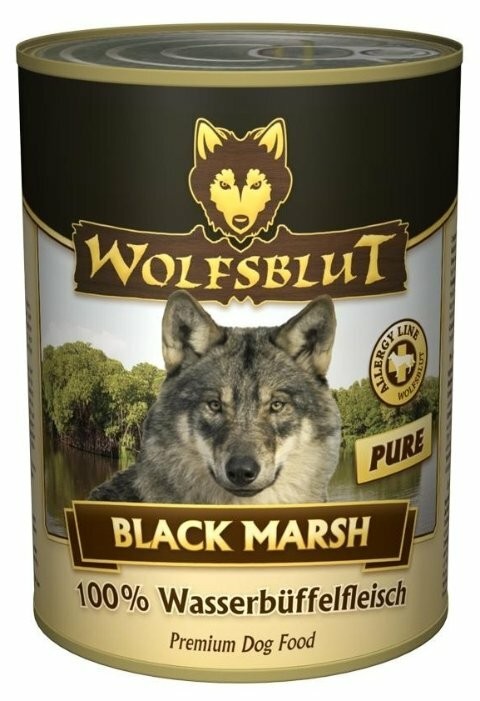 Корм для собак Wolfsblut Консервы Black Marsh Pure (0.395 кг) 1 шт.
