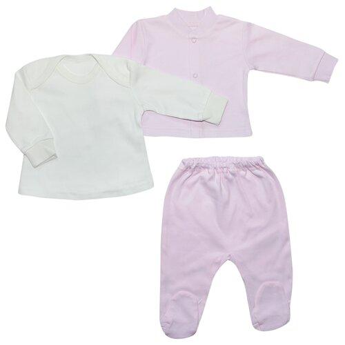 Фото - Комплект одежды Клякса размер 86, белый/розовый комплект одежды клякса размер 86 желтый