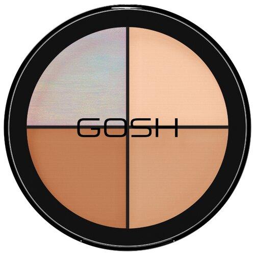 GOSH Набор хайлайтеров Strobe'N Glow 001, Highlight gosh castchy eyes