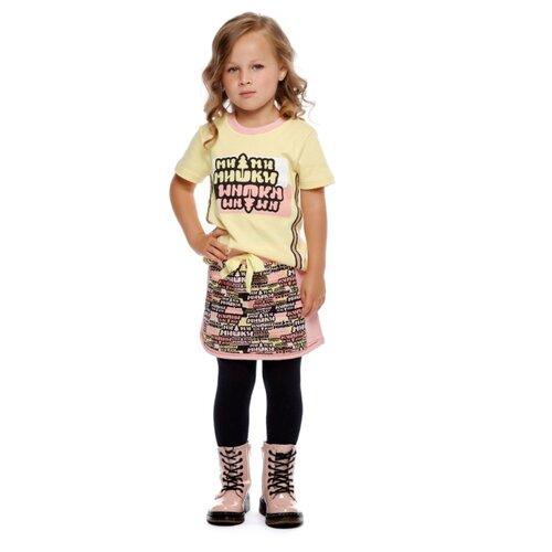 Фото - Юбка lucky child размер 28 (92-98), розовый пижама lucky child размер 28 92 98 полосатый