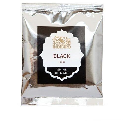 Хна Indibird чёрная, 50 г хна для волос натуральная черная indibird 50 г