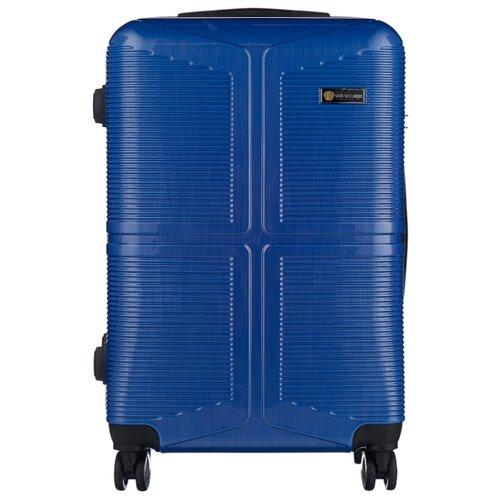 Чемодан Sun Voyage CODE M 68 л, indigo чемодан sun voyage sv037 ac116 m