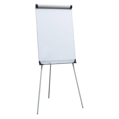 Купить Доска-флипчарт магнитно-маркерная 2x3 на треноге TF01 (100х70 см) белый/серебристый, Доски