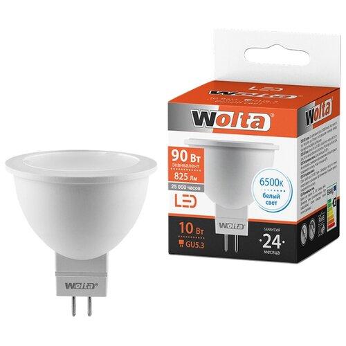 Лампа светодиодная Wolta GU5.3, MR16, 10ВтЛампочки<br>