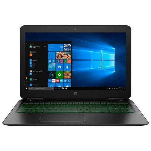 Ноутбук HP PAVILION 15-dp0097ur (Intel Core i5 8300H 2300 MHz/15.6/1920x1080/8GB/1128GB HDD+SSD/DVD нет/NVIDIA GeForce GTX 1060/Wi-Fi/Bluetooth/Windows 10 Home) 5AS66EA темно-серый/зеленый хромированный логотип ноутбук dell 15 r3 intel core i7 7700hq 2800 mhz 15 6 1920x1080 8gb 1128gb hdd ssd dvd нет nvidia geforce gtx 1060 wi fi bluetooth windows 10 home