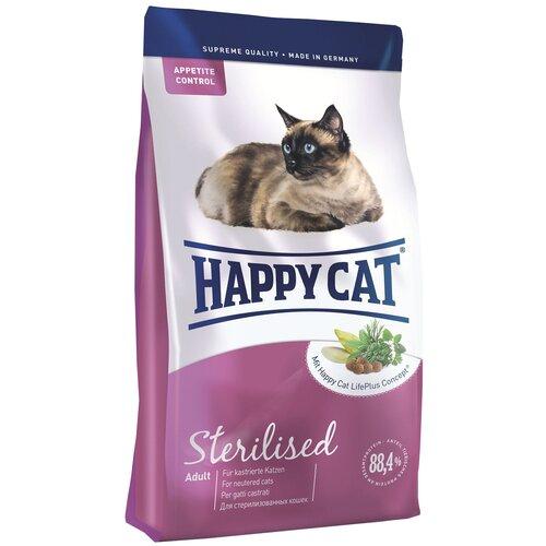 Сухой корм для стерилизованных кошек Happy Cat Sterilised 4 кг