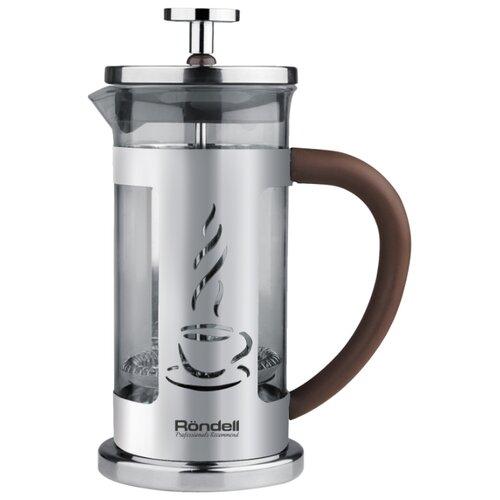 Френч-пресс Rondell Mocco&Latte RDS-491 (1 л) коричневый