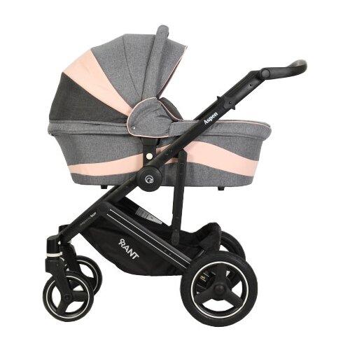 Универсальная коляска RANT Aspen (2 в 1) grey/pinkКоляски<br>
