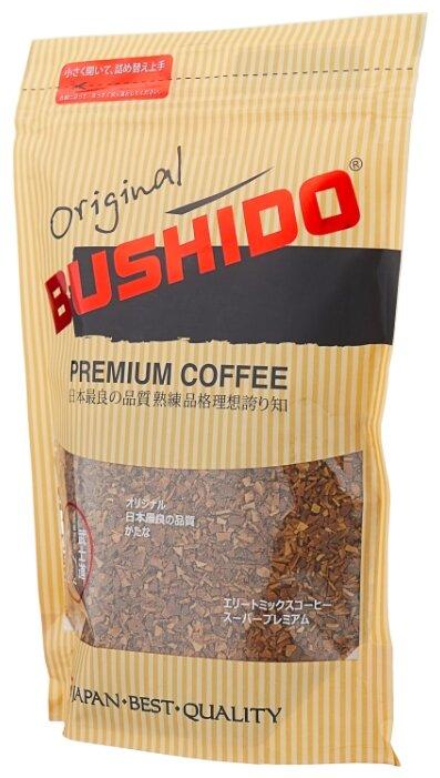 Кофе растворимый Bushido Original, 75 г (Бушидо)