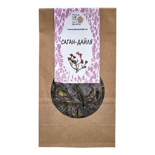 Чай травяной Планета Сибирь Саган-дайля, 50 г чай травяной polezzno саган дайля 50 г