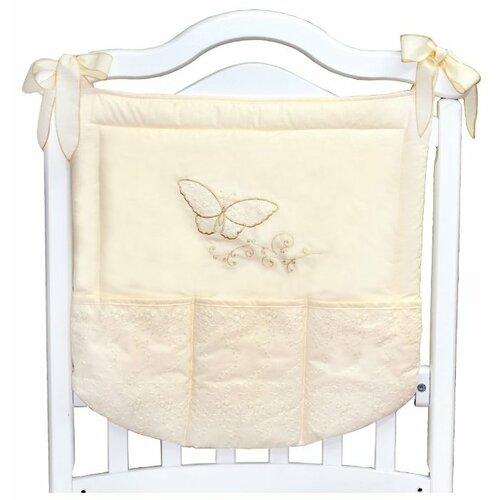 L'Abeille Карман на кроватку Farfalla бежевый сумка farfalla rosso