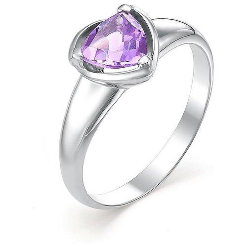 АЛЬКОР Кольцо с 1 аметистом из серебра 01-0376-00АМ-00, размер 17 алькор кольцо с 1 аметистом из серебра 01 0578 00ам 00 размер 17 5