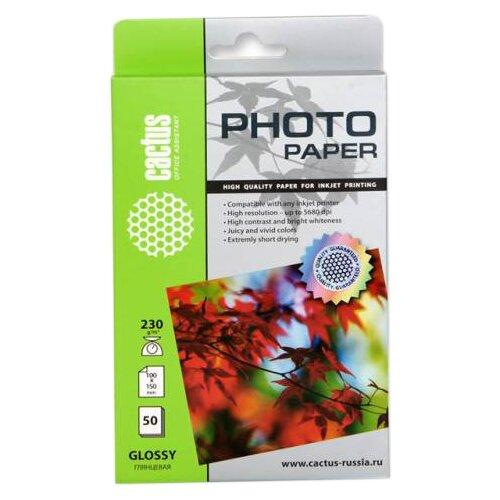 Бумага cactus A6 CS-GA623050 230 г/м² 50 лист. белый