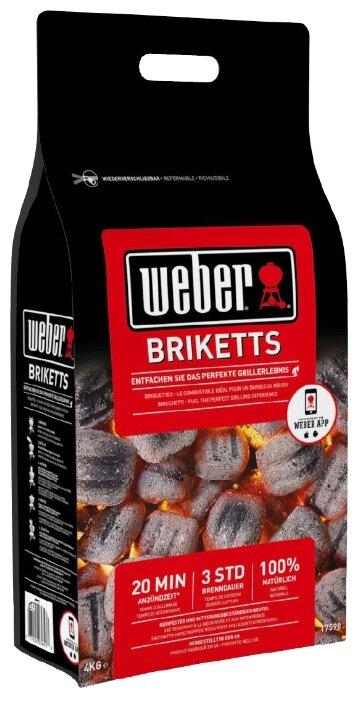 Weber Угольные брикеты, 4 кг