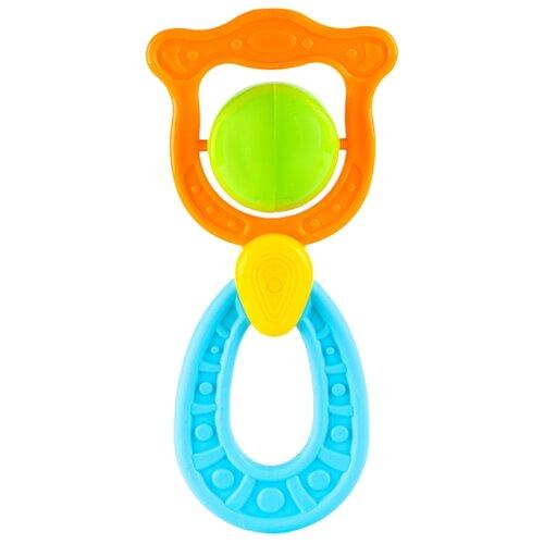 Купить Прорезыватель-погремушка Knopa Венера оранжевый/голубой/зеленый, Погремушки и прорезыватели