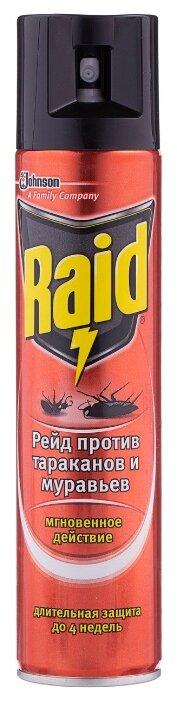 Аэрозоль Raid против тараканов и муравьев