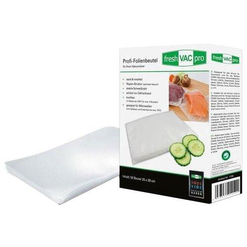 Пакеты для хранения продуктов Ellrona FreshVACpro, 30 см х 20 см, 50 шт пакеты бумажные lefard елка 512 526 32 х 26 х 12 см 12 шт