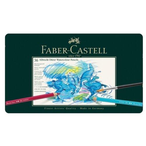 Купить Faber-Castell Карандаши акварельные Albrecht Durer 36 цветов (117536), Цветные карандаши