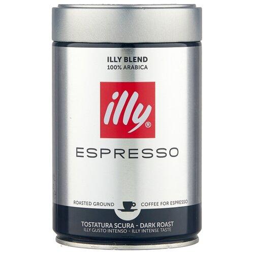 Кофе молотый Illy Espresso темная обжарка, 250 г illy